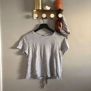 Aerie Tie Back Tee Shirt